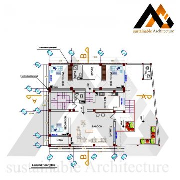 Duplex residential building map