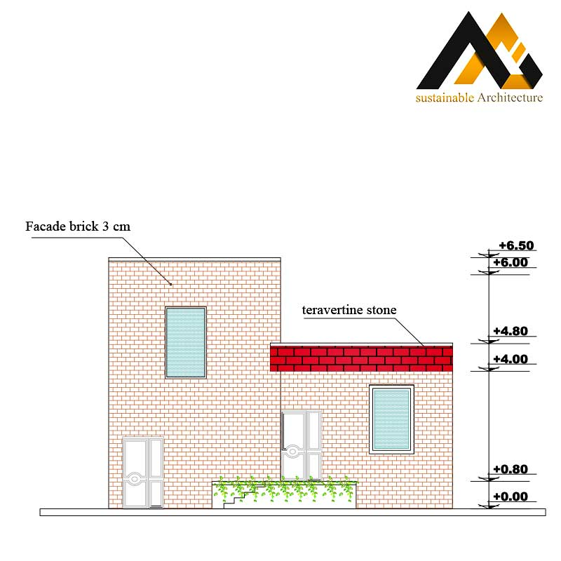 1 storey residential house map