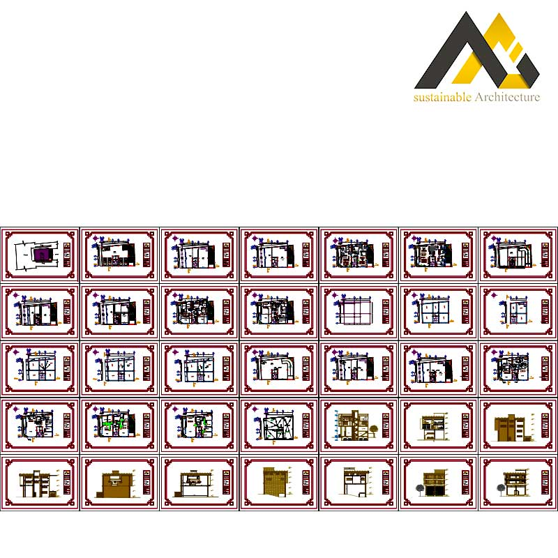 Four storey residential commercial map