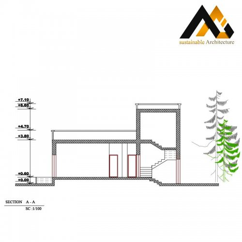 executed residential plan with 11 width
