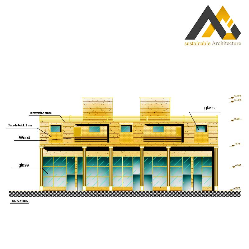commercial residential complex plan