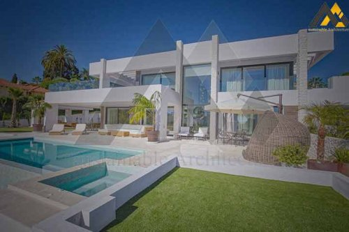 luxury two storeys villa with the basement