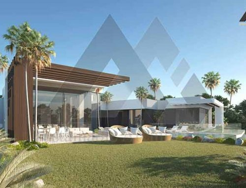 Luxury and modern one storey villa