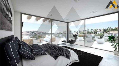 modern style triblex villa