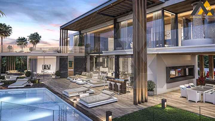 Luxury three storey villa