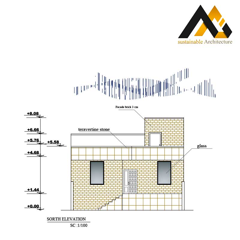 One storey residential map