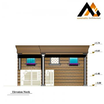 residential house executive plan with 10 width