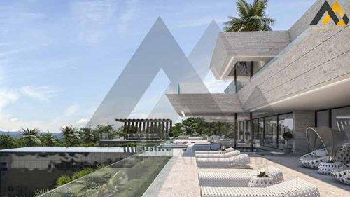 Three storey luxury villa