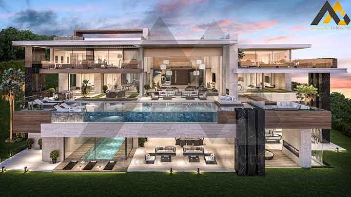 new luxury Triblex villa