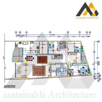 Four storey residential apartment plan