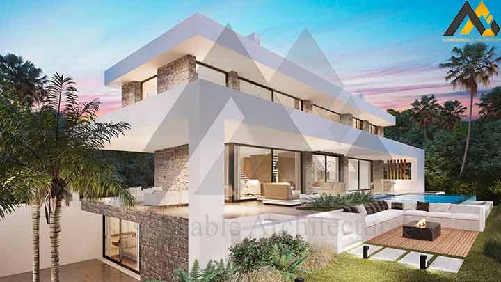 Luxury 3 storey villa