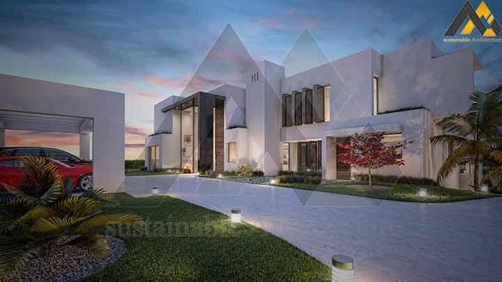 Three storeys luxury villa