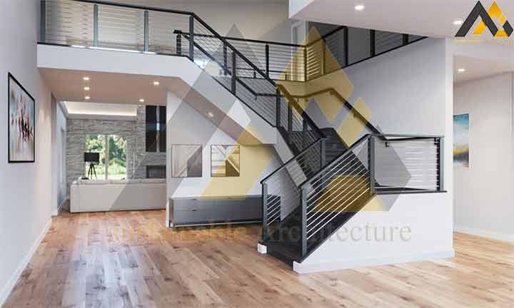 luxury villa house plan