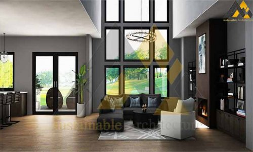 Design of a two storey villa house