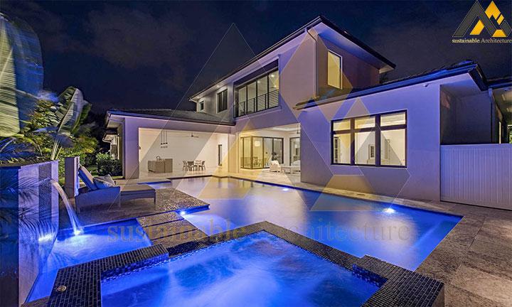 Excellent classic style villa plan design