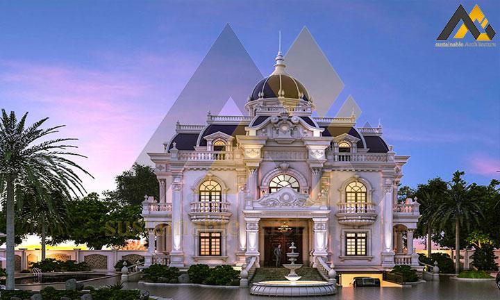 Classic 3 storey villa of 250 square meters