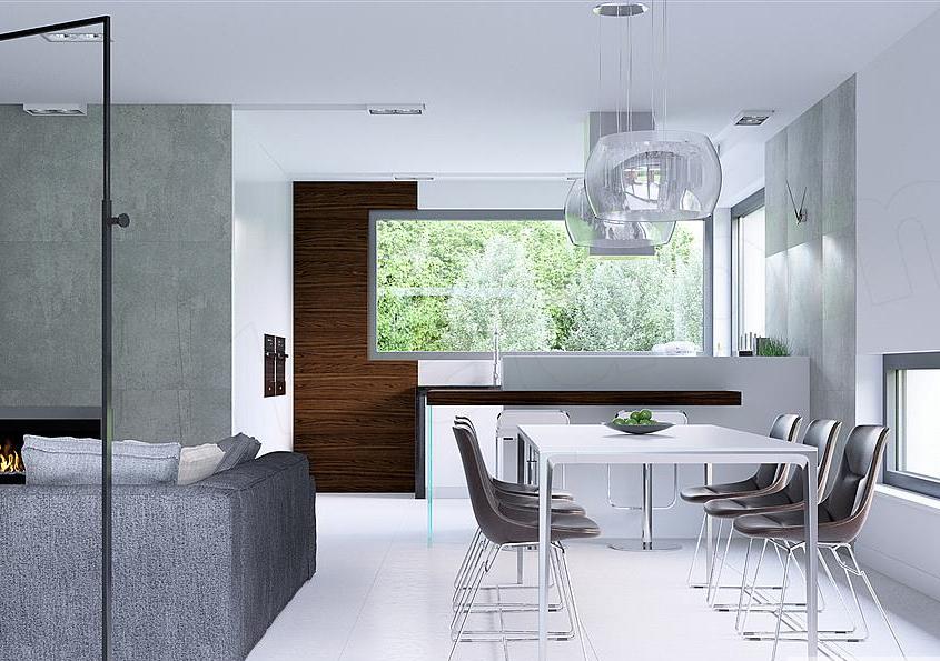 Attic villa design
