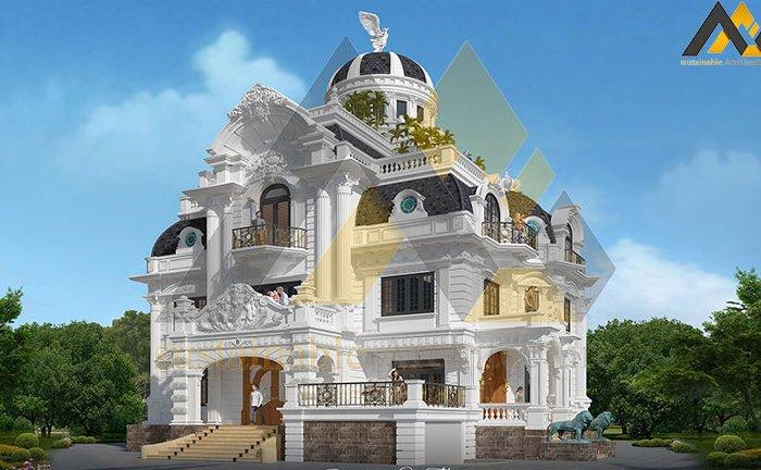 Delightful classic villa design