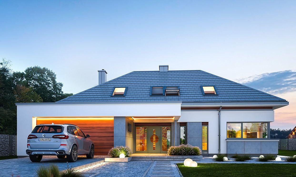 Wonderful Plan of a two storey villa