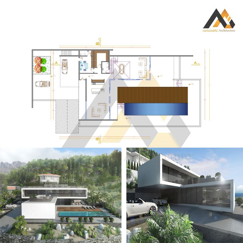 Special duplex villa